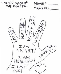 Five Fingers of Health_Fotor